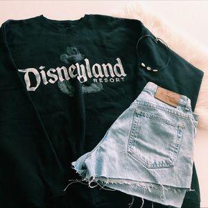 Black Disneyland Crewneck Sweater